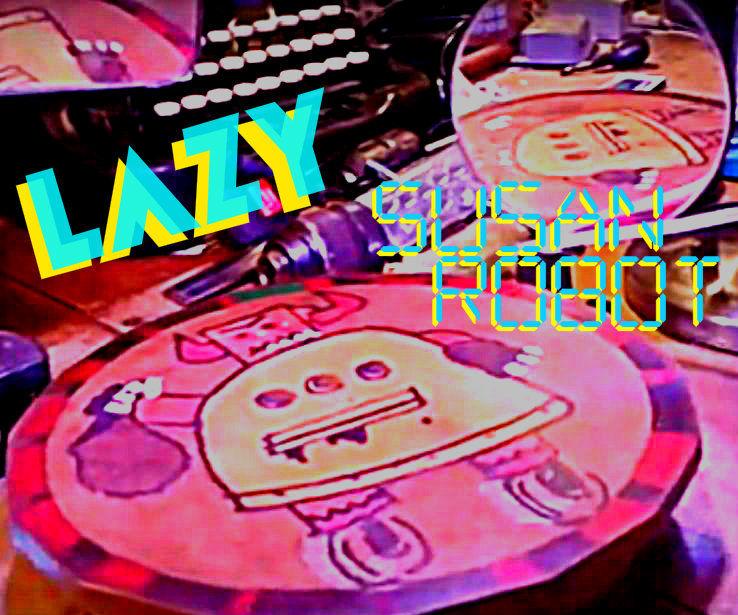 Lazy Susan motorized robot style