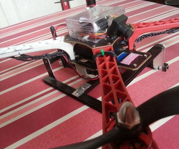 Cheap DIY Multirotor Landing Gear