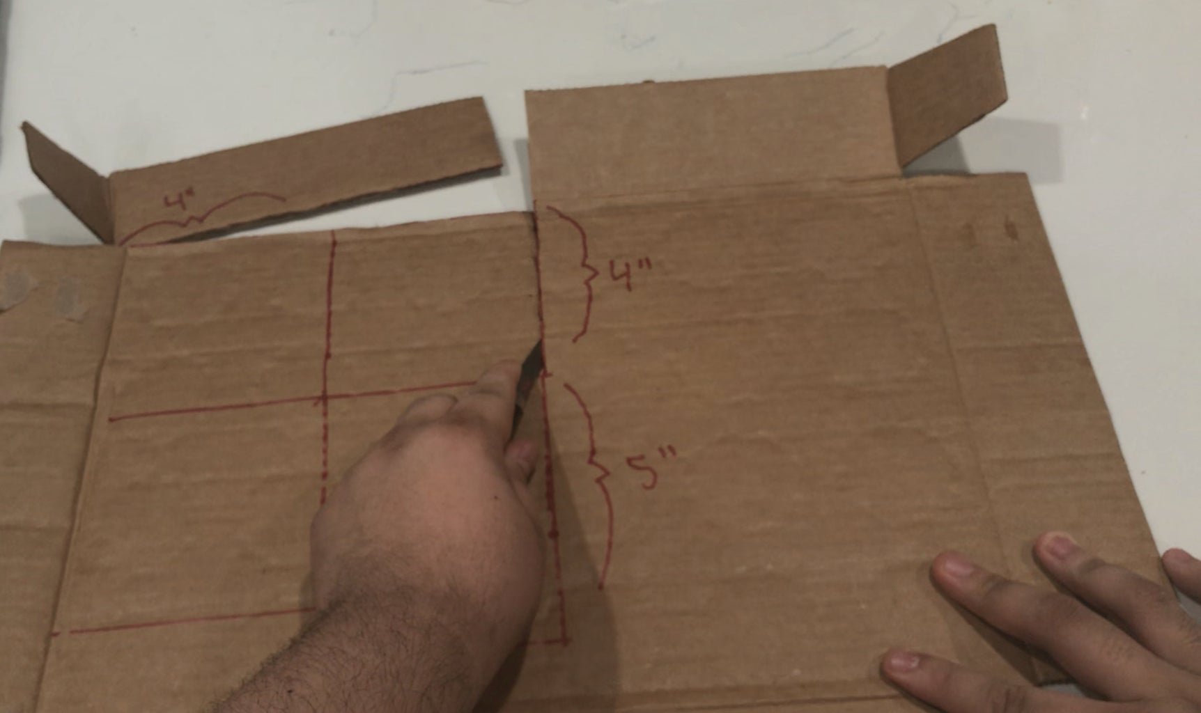 Cut Out Your Cardboard Parts
