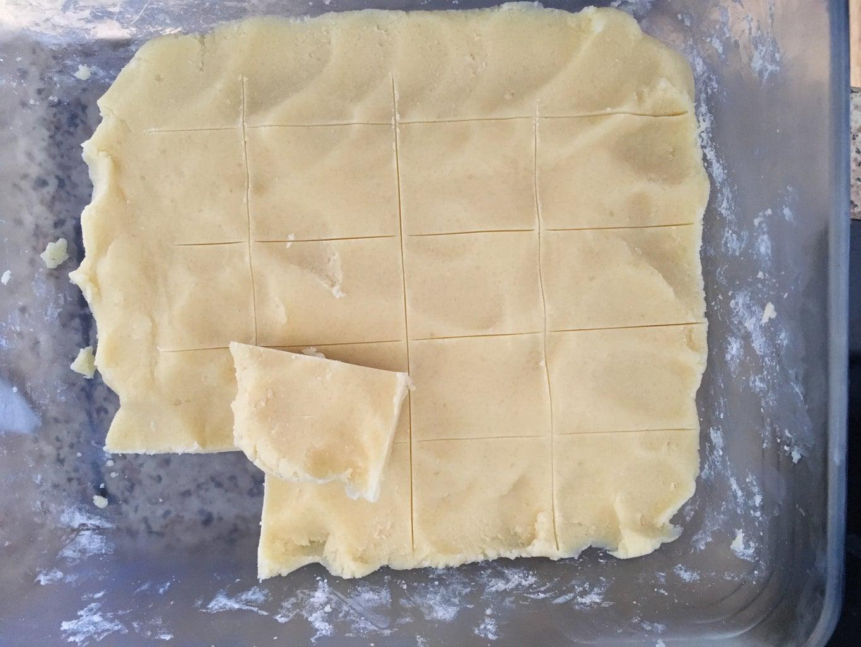 An Easier Dough Step