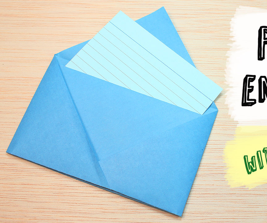 How to make a Paper Envelope without Glue