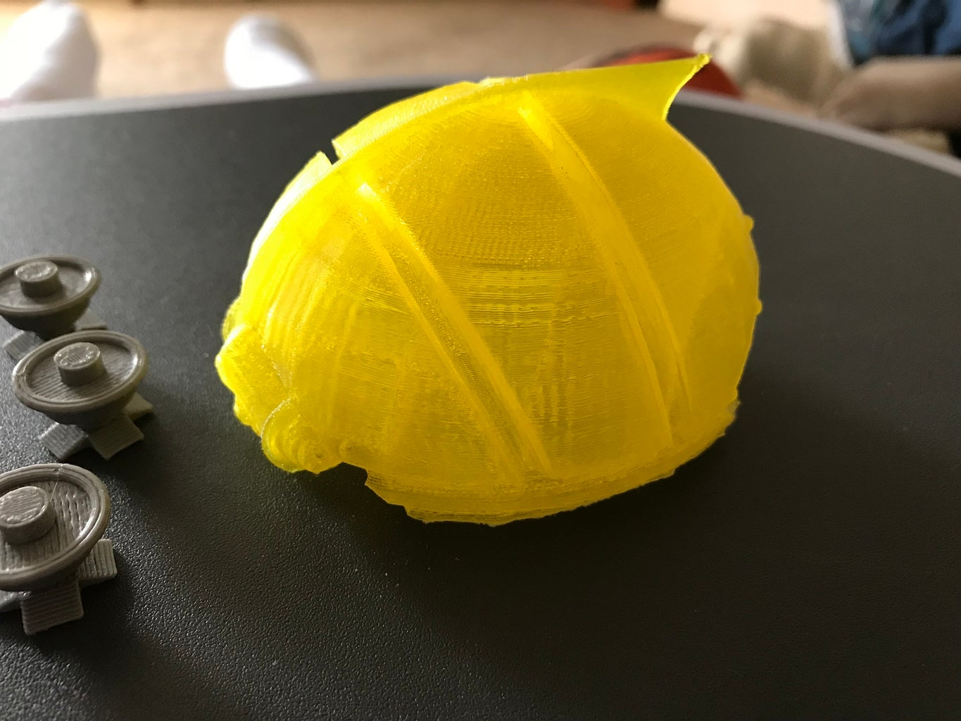 Printed 3D Portions