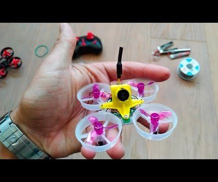 Fully Modded Eachine E010 Tinywhoop