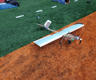 DIY Heavy Lift Fixed Wing RC Aircraft