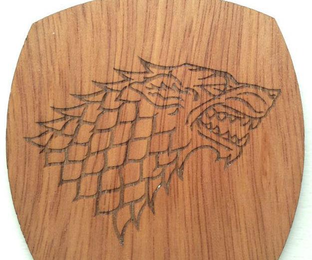 Game of Thrones Beer Coasters