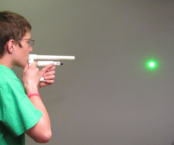 Laser Sighted Marshmallow Shooter