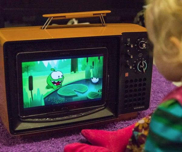 TV Case for Tablet, Retro