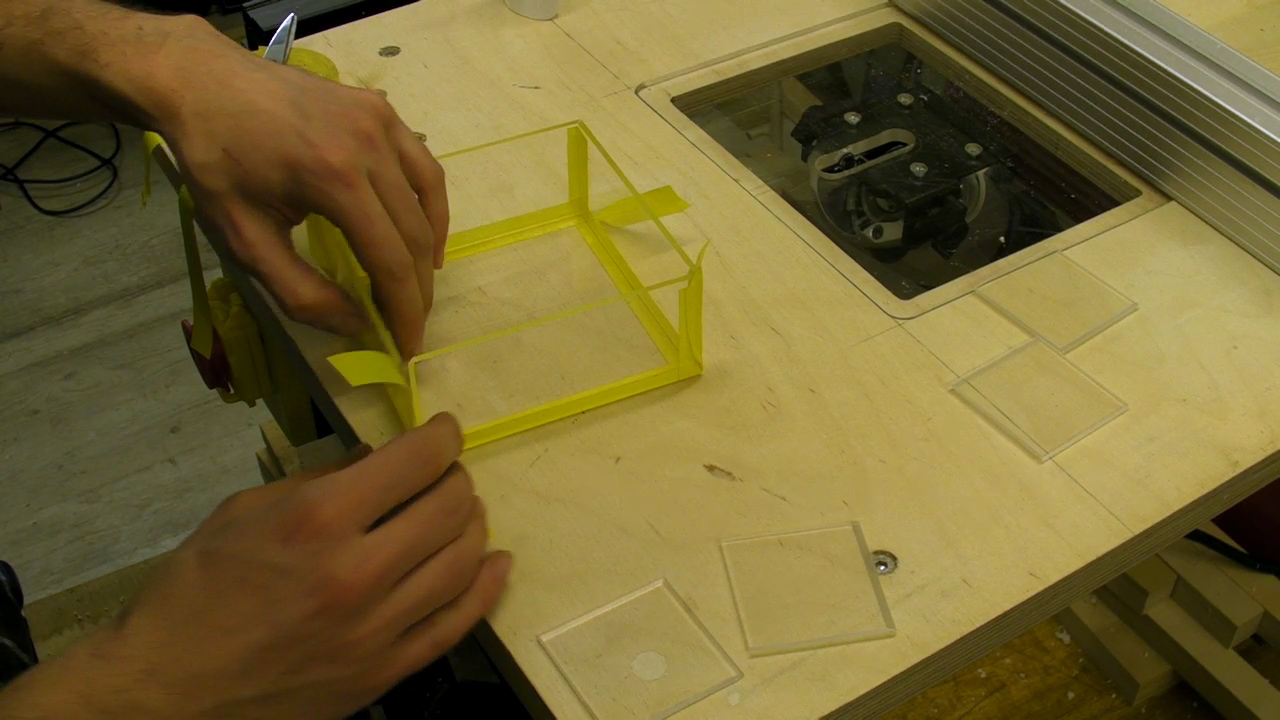 Making a Perspex Plastic Box - Using Tilting Router Table