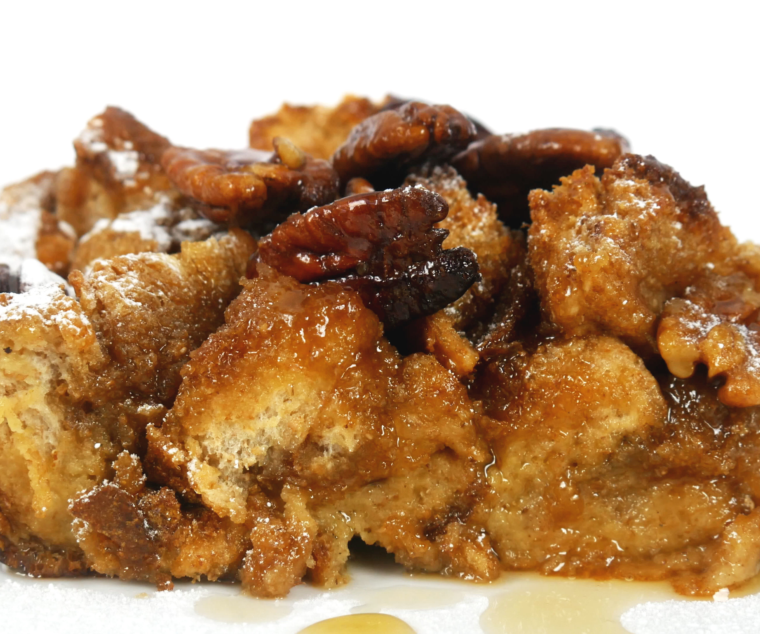 MAPLE & PECAN FRENCH TOAST CASSEROLE (BAKE)