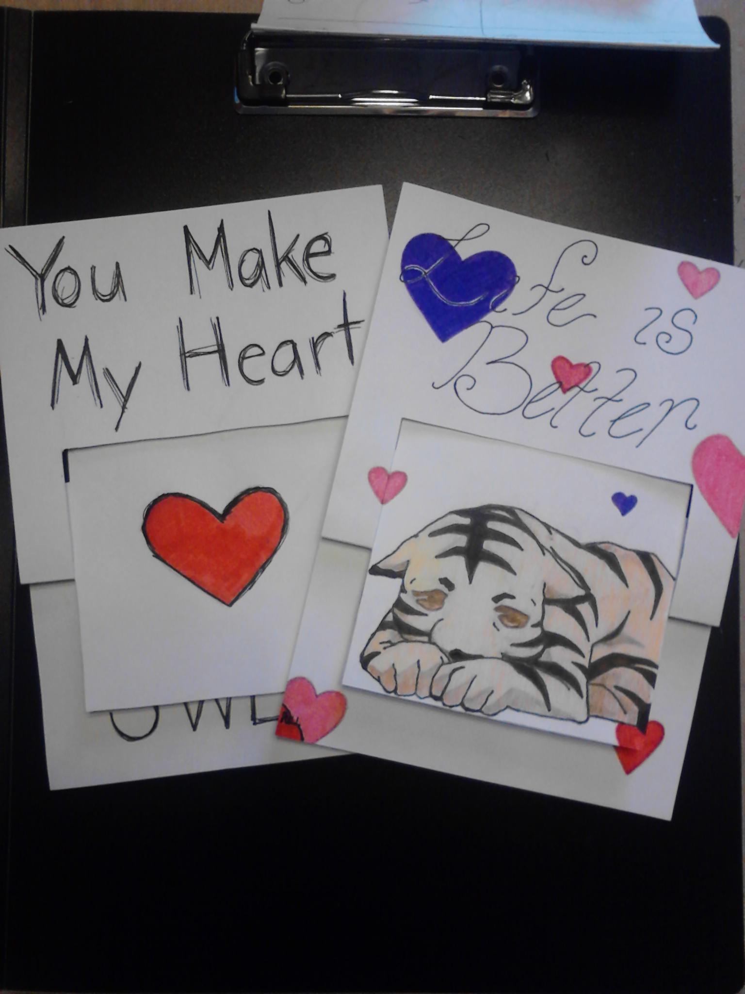 Valentines Flip Card
