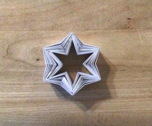 Easy Origami Holiday Star:Hanukkah或圣诞装饰:所有年龄段的简单纸艺术