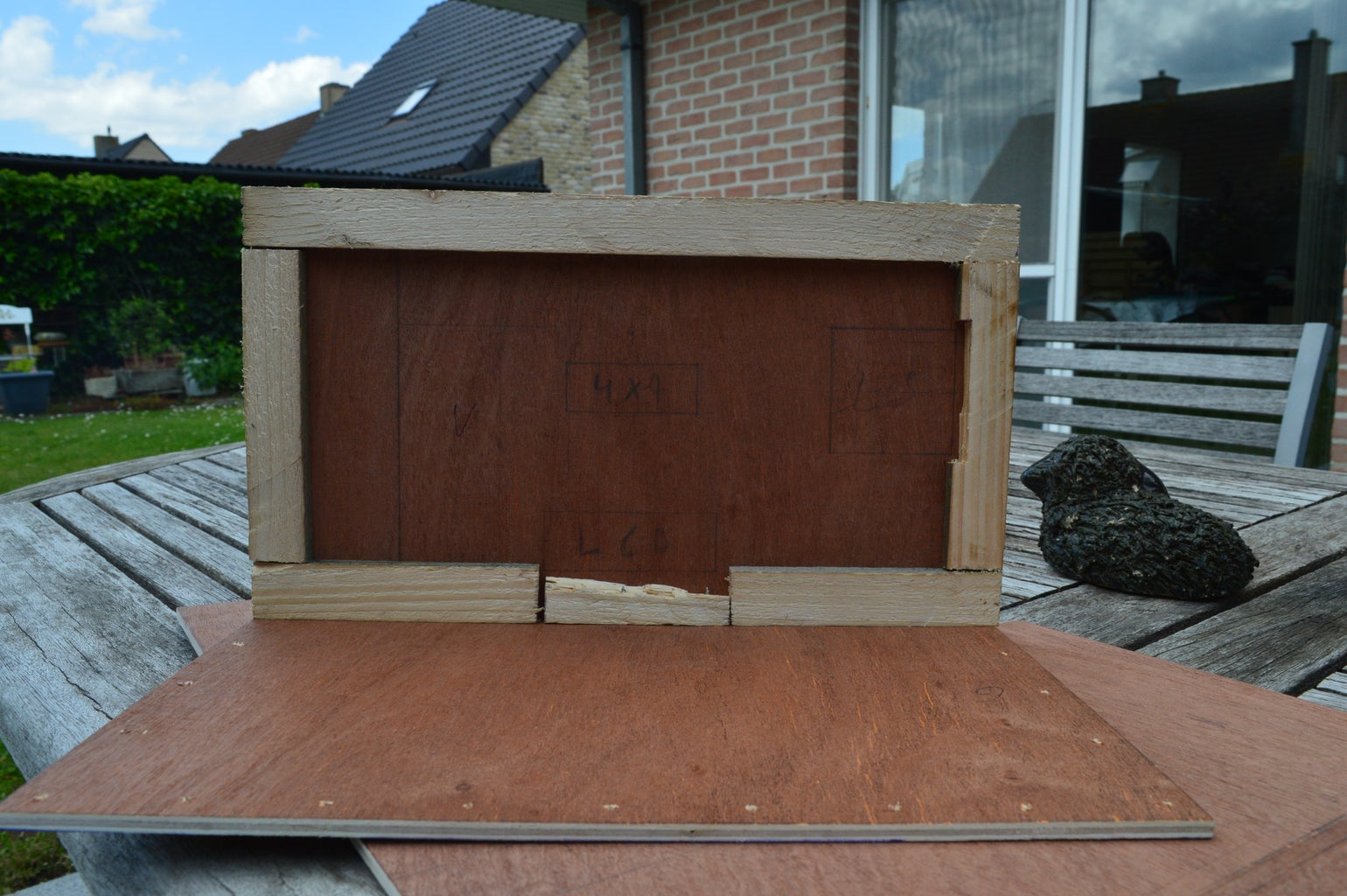 Step 13: Building the Outside
