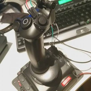 Add a Little Two Analog Axis Thumb Joystick to Your Existing Joystick.