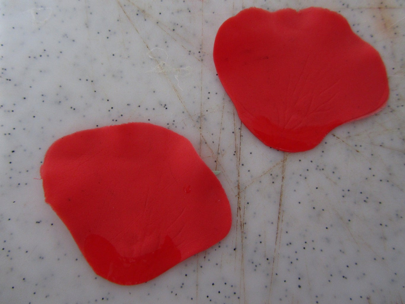Making Poppies: Outer Petals