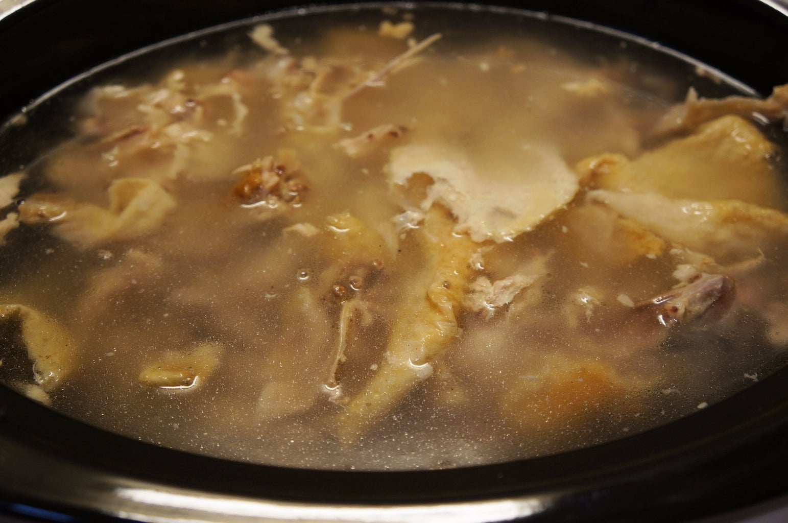 Cooking the Chicken Stock