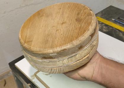 The Glued Circular Block