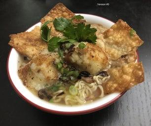 Bakso Bakwan (Indonesian Meatball Soup)