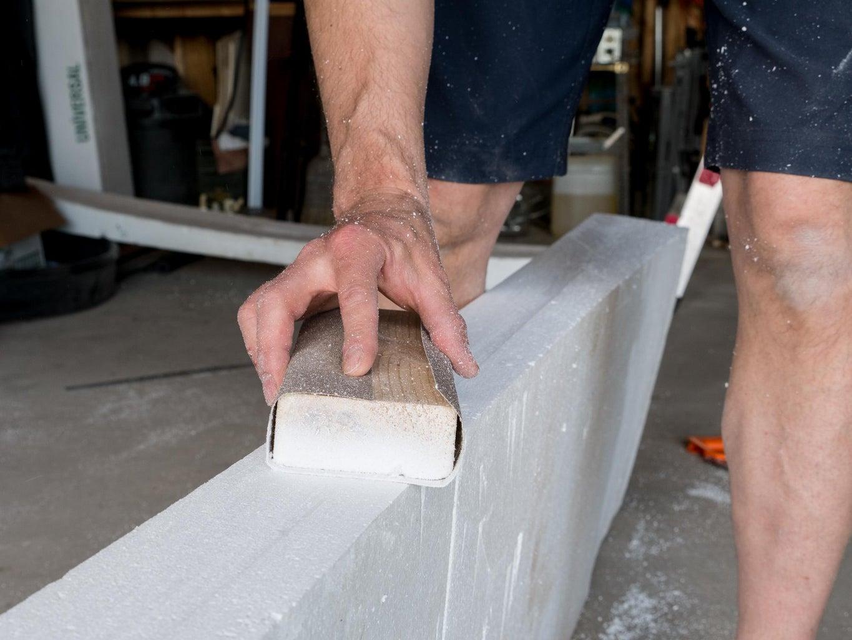 Cut the Foam in Half