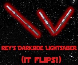 Rey's Dark Side Lightsaber