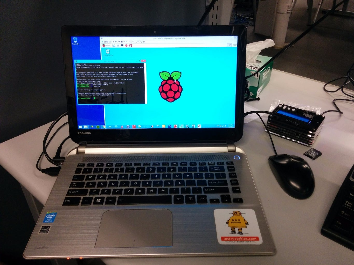 Setting Static IP and Running the Pi Via SSH