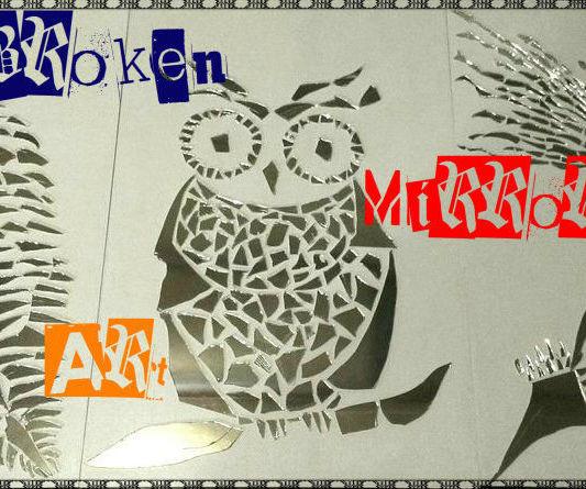 Broken Mirror Art!