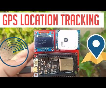 ESP32 GPS Tracker With an OLED Display