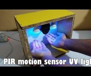 Ultrasonic Hand Washing With Pir Motion Sensor