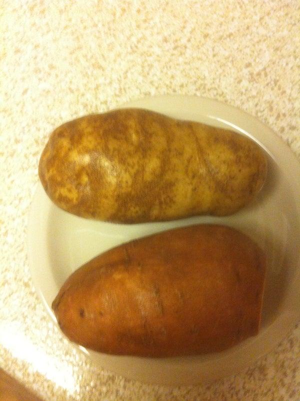 20 to 30 Minute Perfect Baked Potatoes - Sweet Potatoes