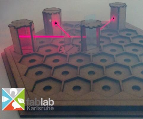 Laser Labyrinth #phablabs