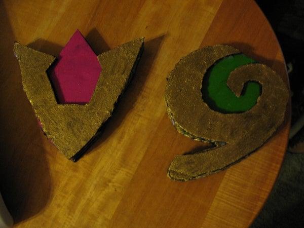 Cardboard Spiritual Stones