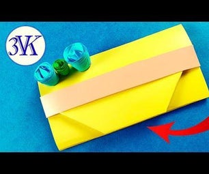 How to Make an Origami Paper Purse?