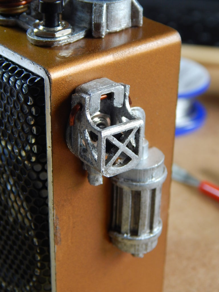 Mounting Protective Cage for the Recording Button
