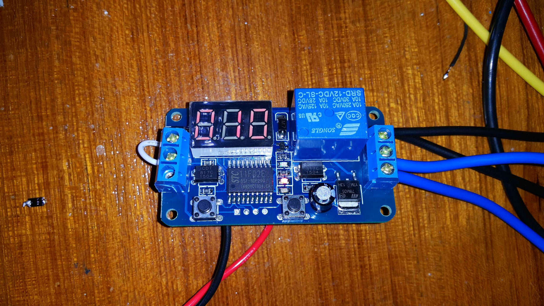 Time Delay Relay Plus Control Relays.