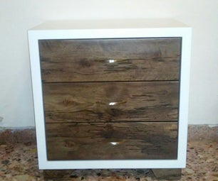 Modern Nightstand With Drawers