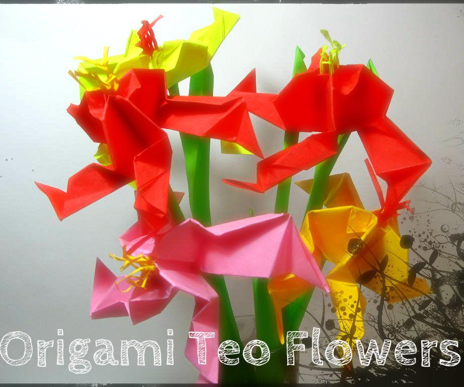 Origami Teo Flower