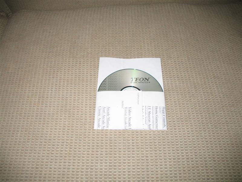 Easy-Peasy CD Sleevesey
