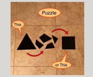 拼图:平方三角形