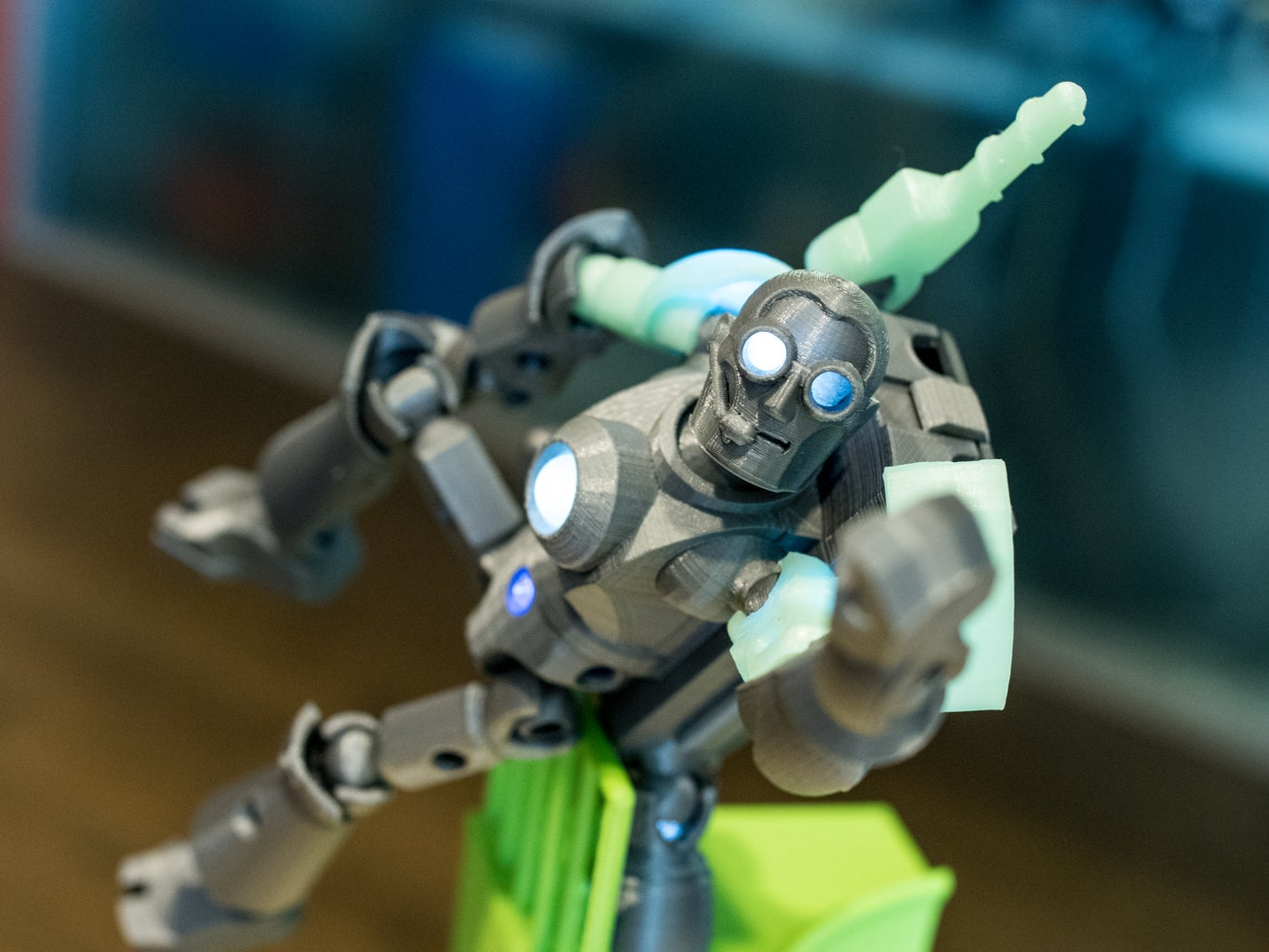 Build a Custom 3d Printed, Light-up Figure