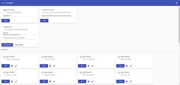 Create an Account on Sinric.com