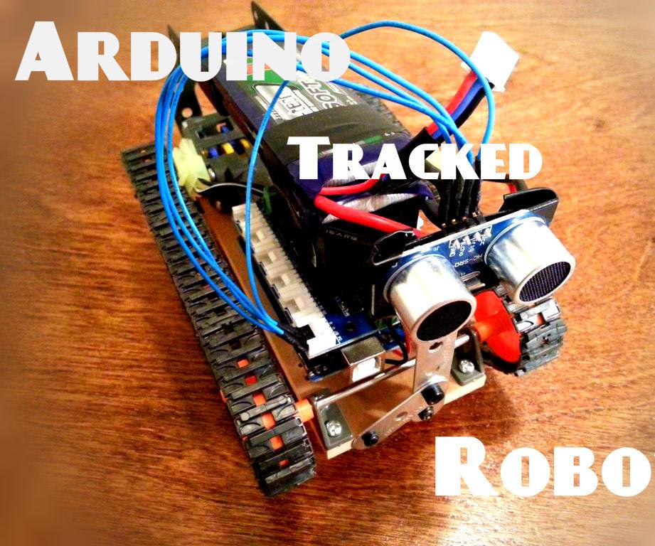 Tracked Arduino Robot