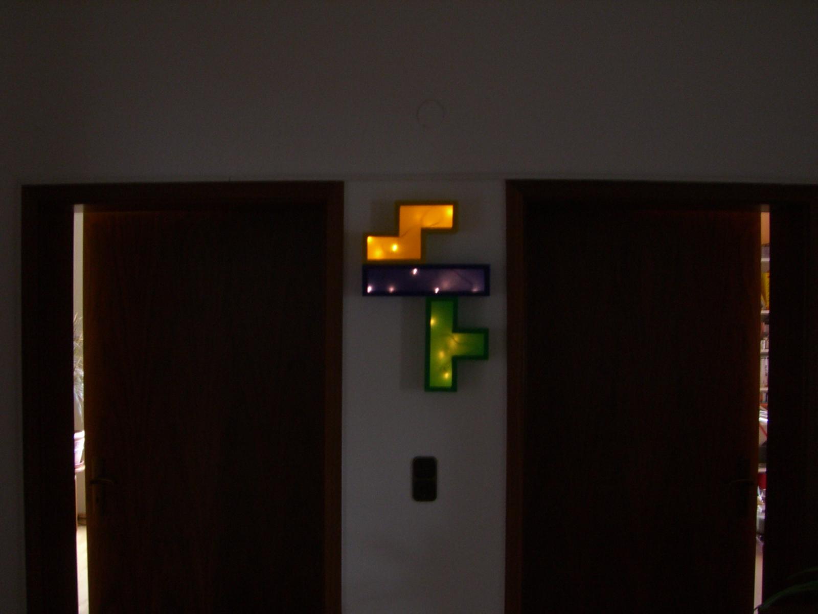 Raw TetrisLamp