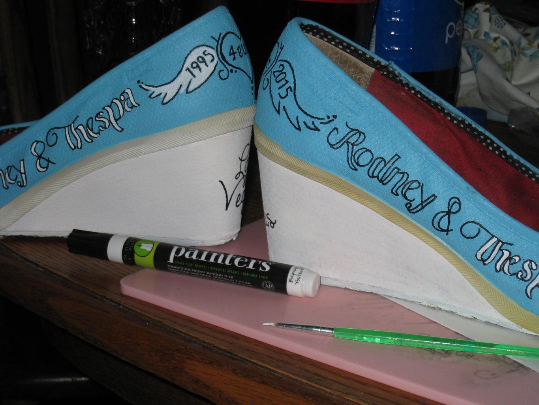 Paint Pens and Paint...