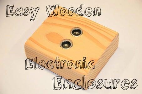 Easy 2x4 Electronics Enclosures