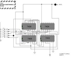 Cerrojo Electronico De 32 Combinaciones