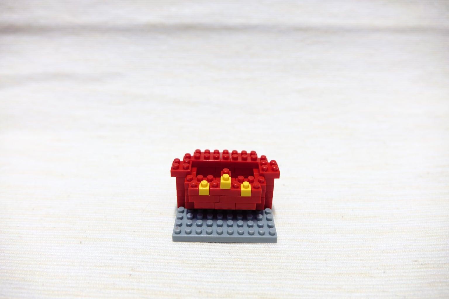 Red Block 1*1, Yellow Block 1*1