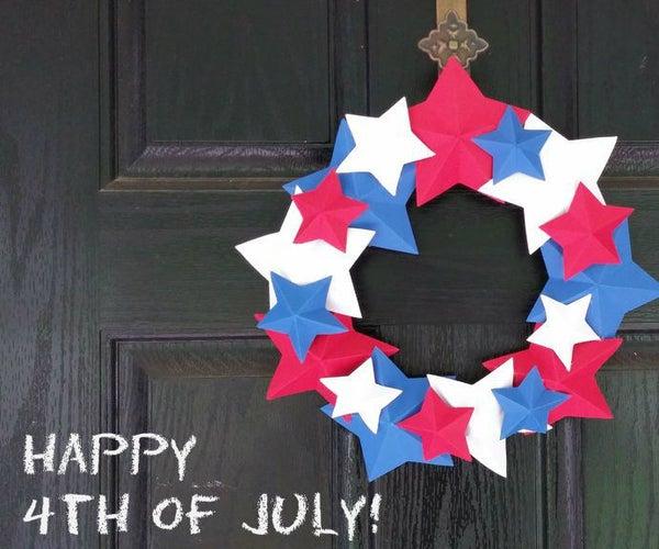 Independence Day Door Wreath