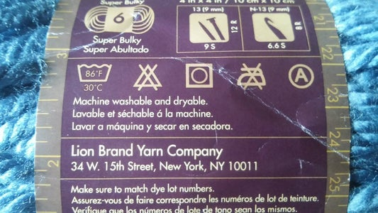 Laundry Directions