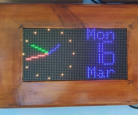 WiFi Clock,Timer & Weather Station, Blynk Controlled