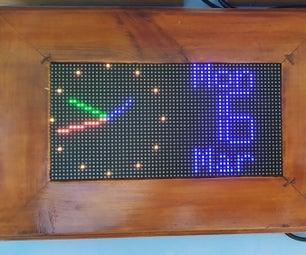 WiFi时钟,定时器和气象站,Blynk控制