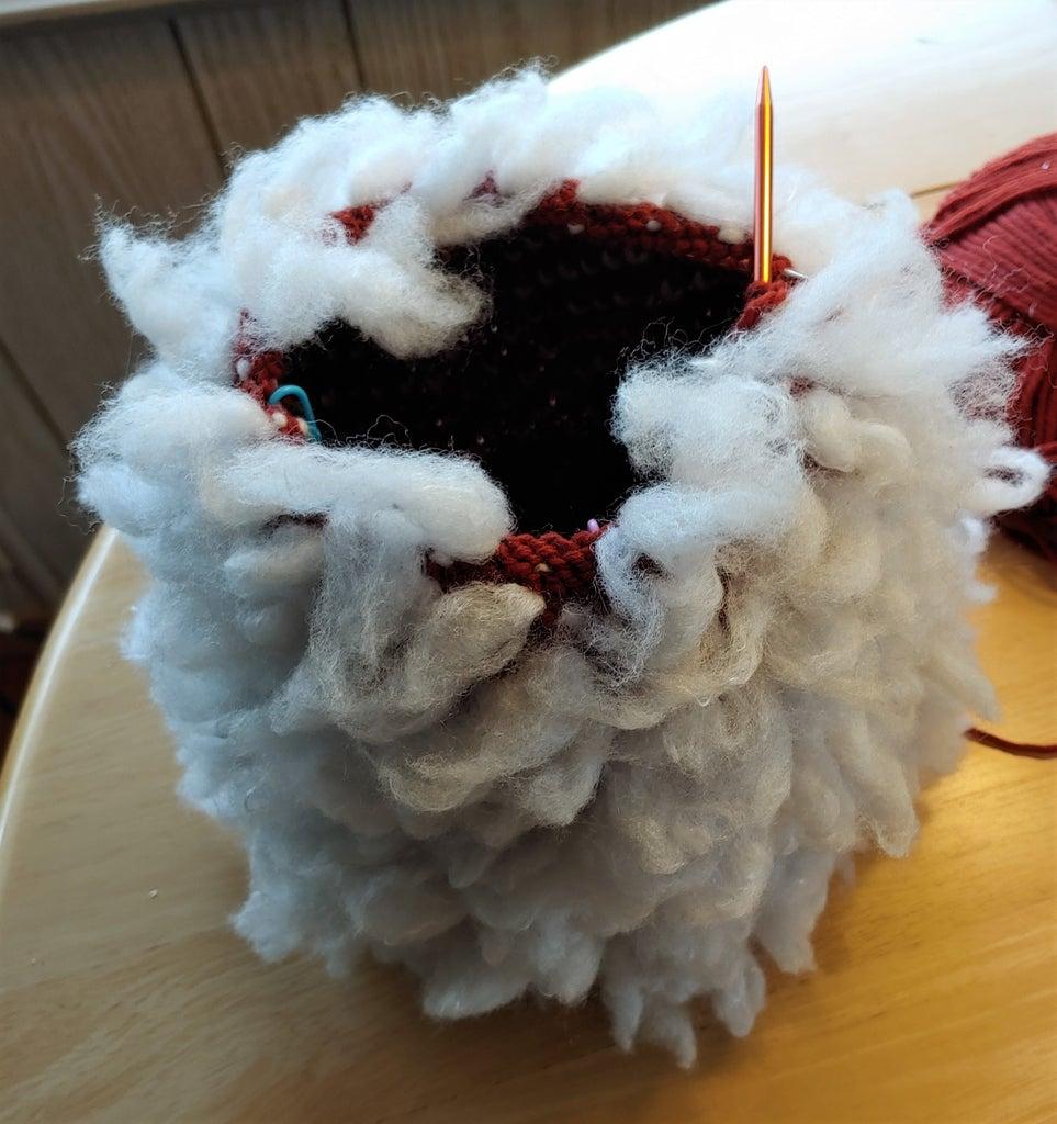 Knitting the Thrummed Body